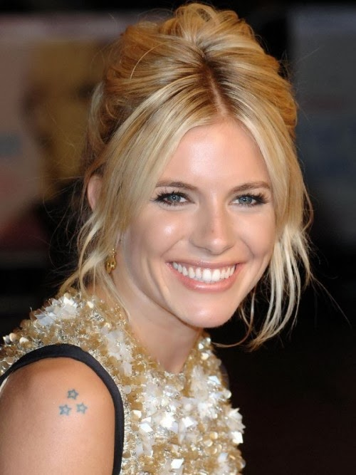 Sienna Miller Star Tattoo