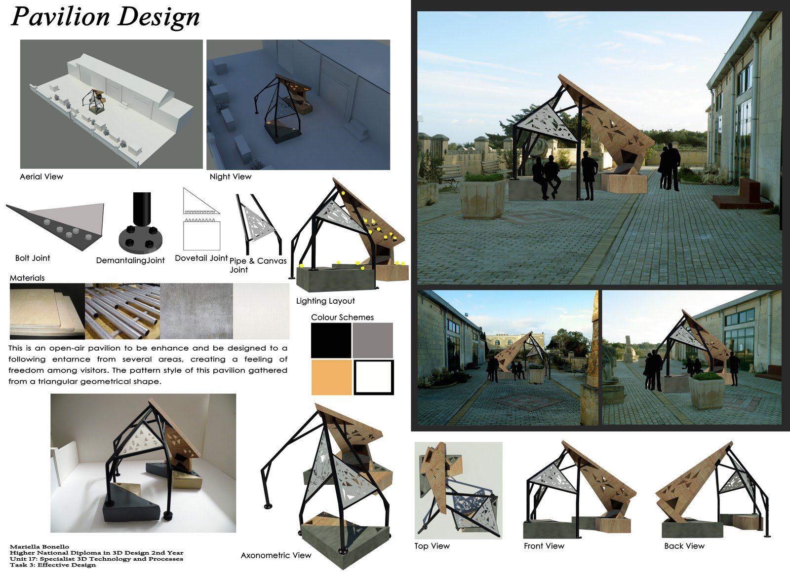 Bonmar design with creativity pavilion design concept for Pavilion concept architecture