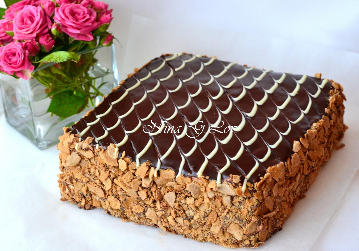 Торт квадратный в домашних условиях 97