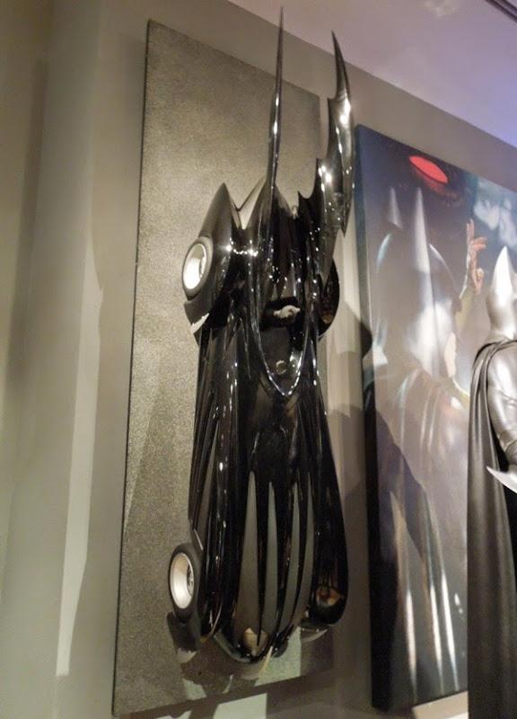 Batman and Robin Batmobile model
