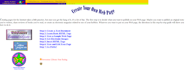 Create web page with html code