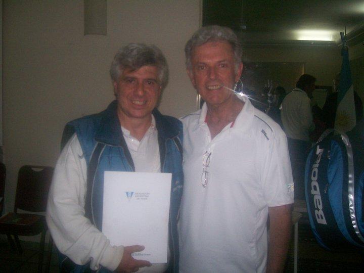 Con Miguel Miranda (Director ITF Sudamerica)