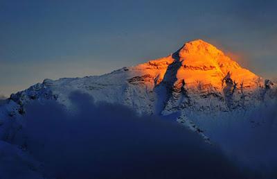 Qomolangma, gunung Qomolangma