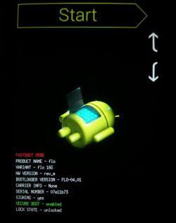 sbloccare dispositivi Google Nexus