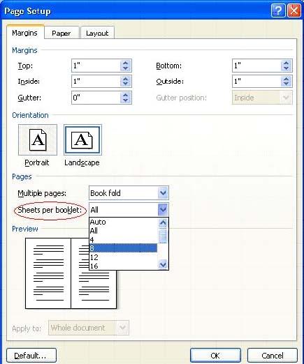3 MS Word 2007 এ কিভাবে Booklet Print করতে হয়? | Techtunes MS Word 2007 এ কিভাবে Booklet Print করতে হয়?