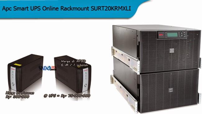 Apc Smart UPS Online Rackmount SURT20KRMXLI