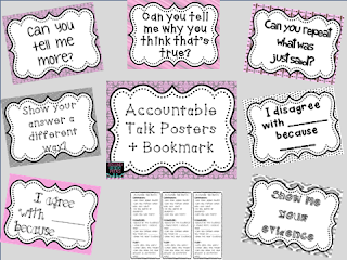 http://www.teacherspayteachers.com/Product/Accountable-Talk-Posters-Bookmark-Freebie-935414