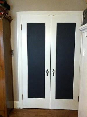 Kathy Schmitz Chalkboard Doodle Doors