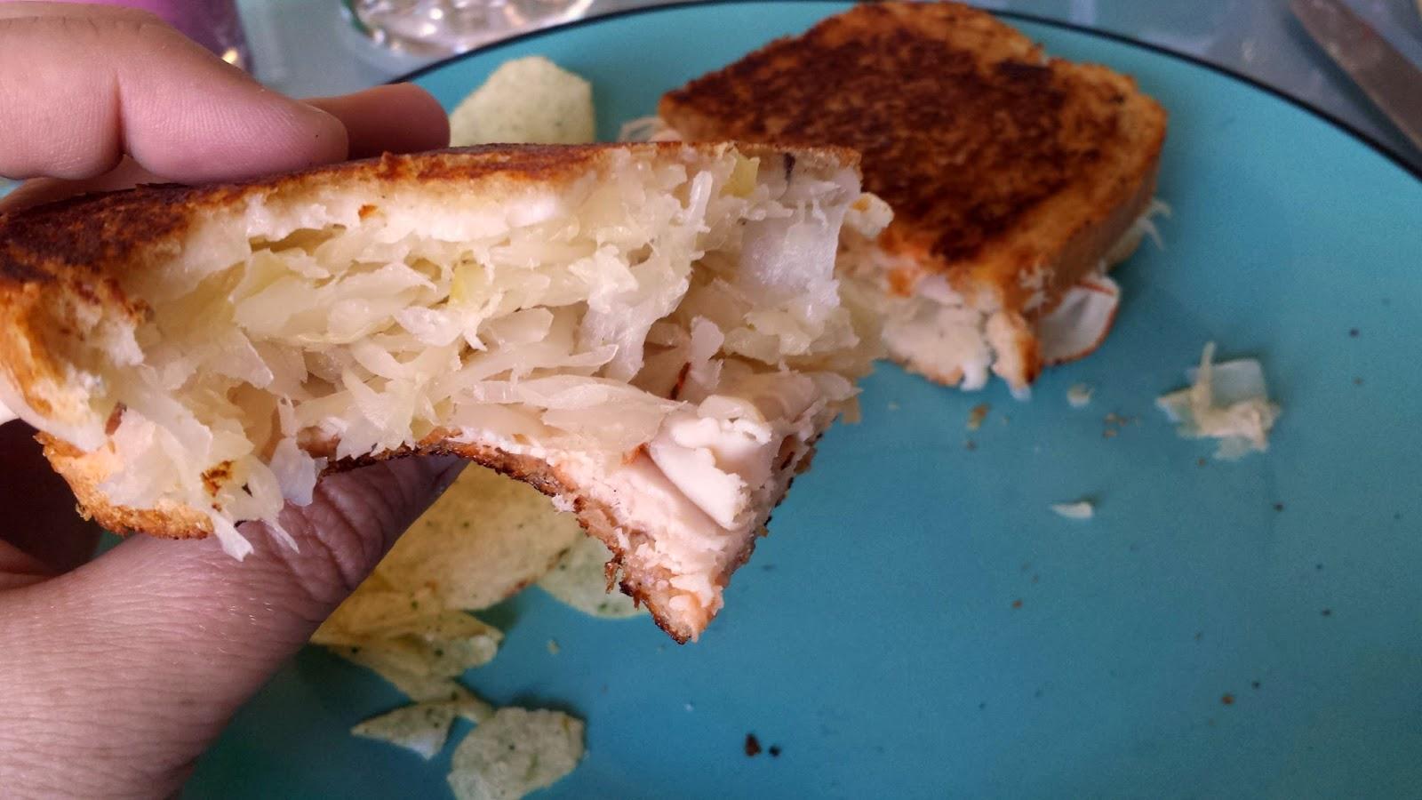 Rachael Sandwich how-to