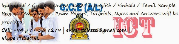 gce o l a l ict git past papers model paper notes syllabus for