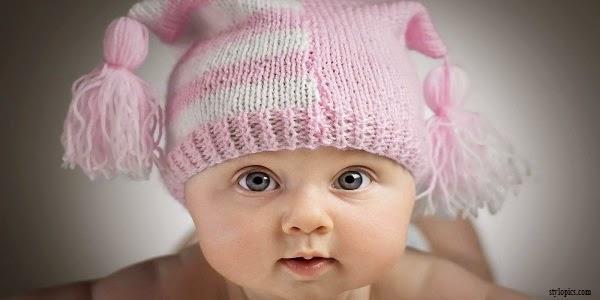 Photo de couverture facebook bébé fille