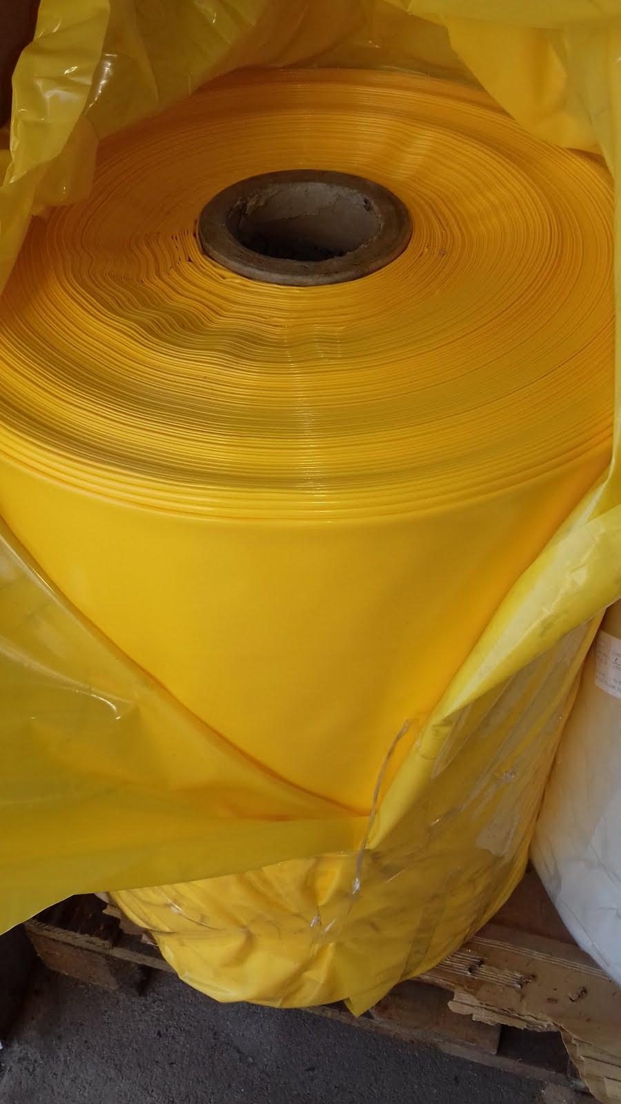 Lona amarela 4x100x50kg