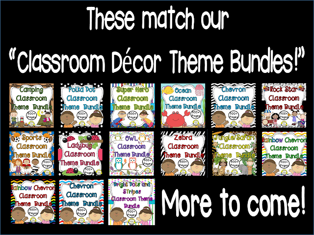 Planet Happy Smiles Classroom Decor Bundles
