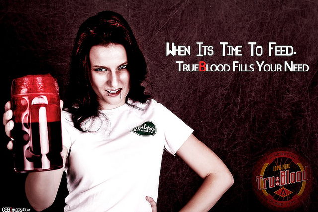 True Blood Tru Blood promo
