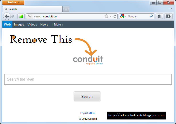 how to get rid of search conduit safari