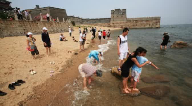 Inilah Penampakan Ujung Tembok Raksasa Cina Yang Belum Banyak Diketahui Orang