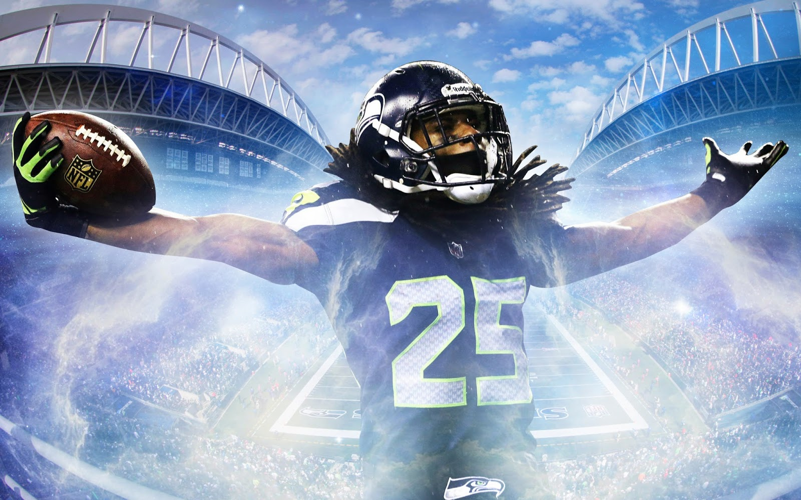 Richard Sherman Wallpaper Perfect For The SuperBowl