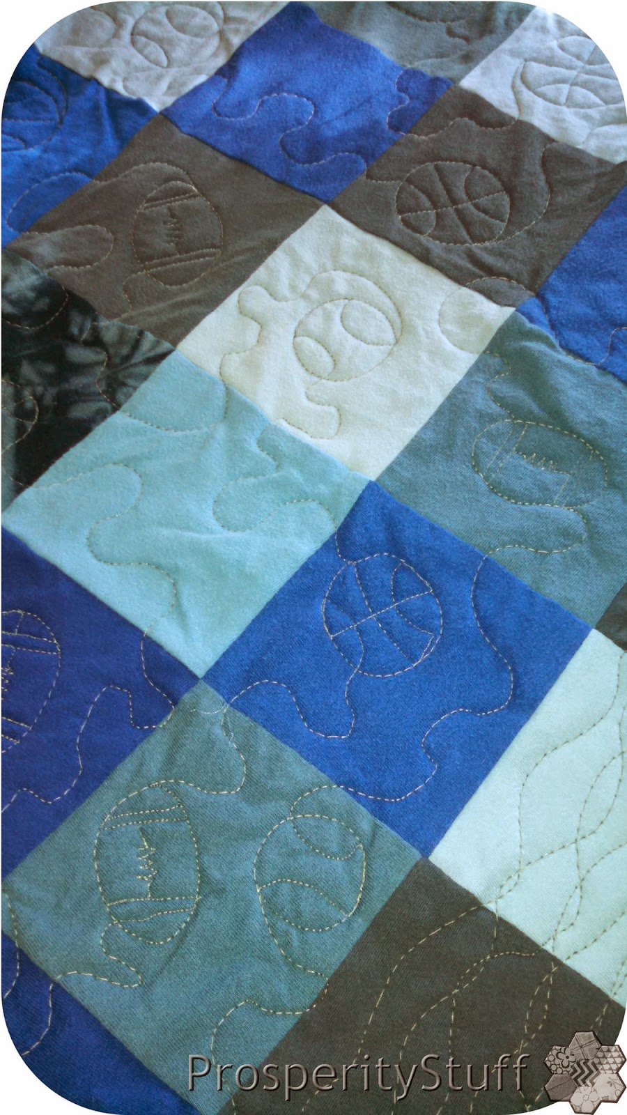 ProsperityStuff Quilts: Football, Baseball, Basketball FMQ