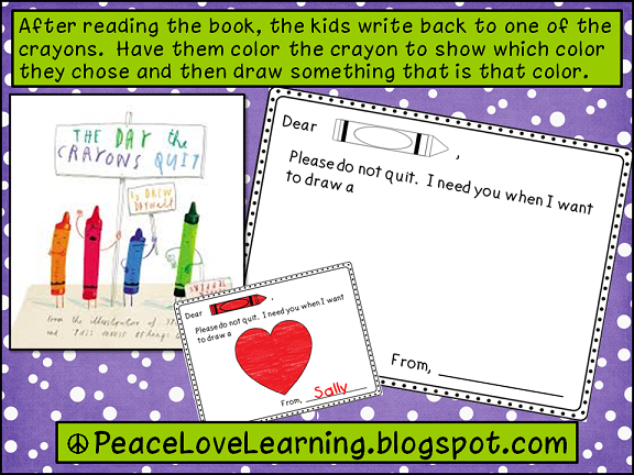 Cute Freebie from Peace, Love and Learning