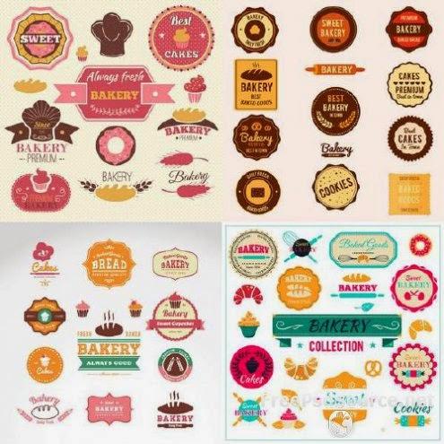 ... Logos de Panaderia, Pasteleria | Robney.Us - Vectores Editables Gratis