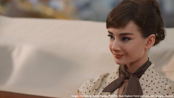 Audrey Hepburn in Galaxy Chocolate's TV Advert 2013