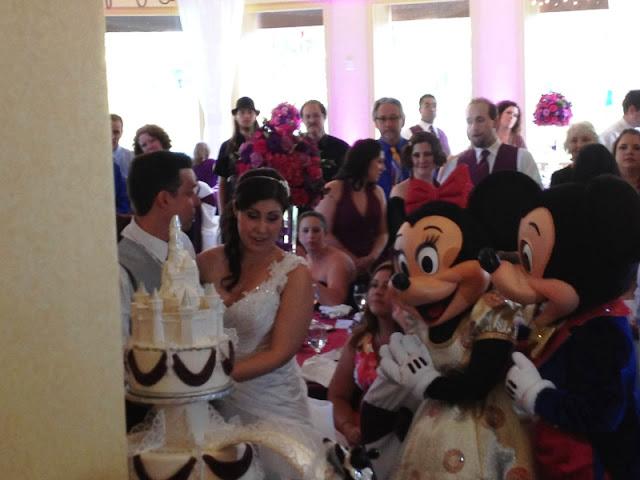 Disneyland Wedding - Mickey and Minnie
