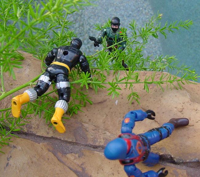 2004 Night Force Beach Head, TRU Exclusive, 2003 BAT, Internet Exclusive, cobra Officer