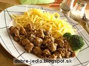 Chalupársky sójový guláš s cestovinami - recept