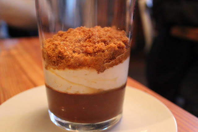 S'mores dessert at West Bridge, Cambridge, Mass.