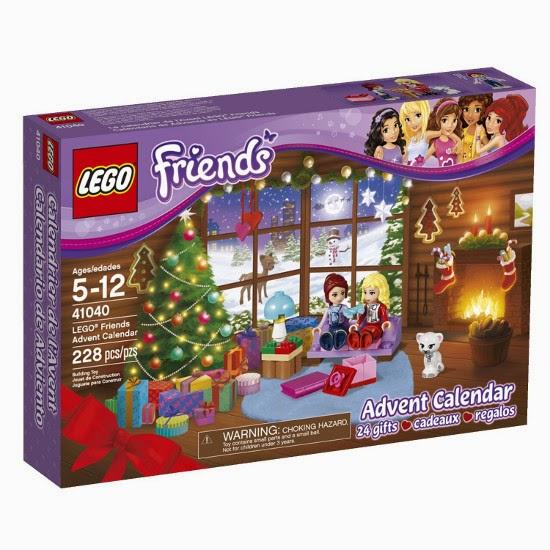 TOYS : JUGUETES - LEGO Friends  41040 Calendario de Adviento | Advent Calendar  Producto Oficial 2014 | Piezas 228 | Edad: 5-12 años