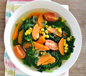 Resep Cara Membuat Sayur Bayam Bening