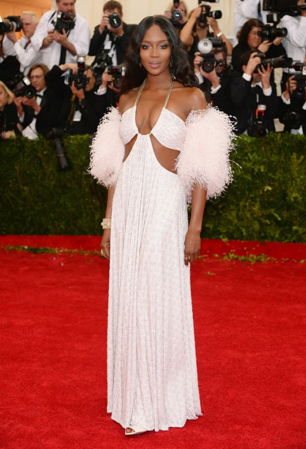 Naomi Campbell at the Met Gala