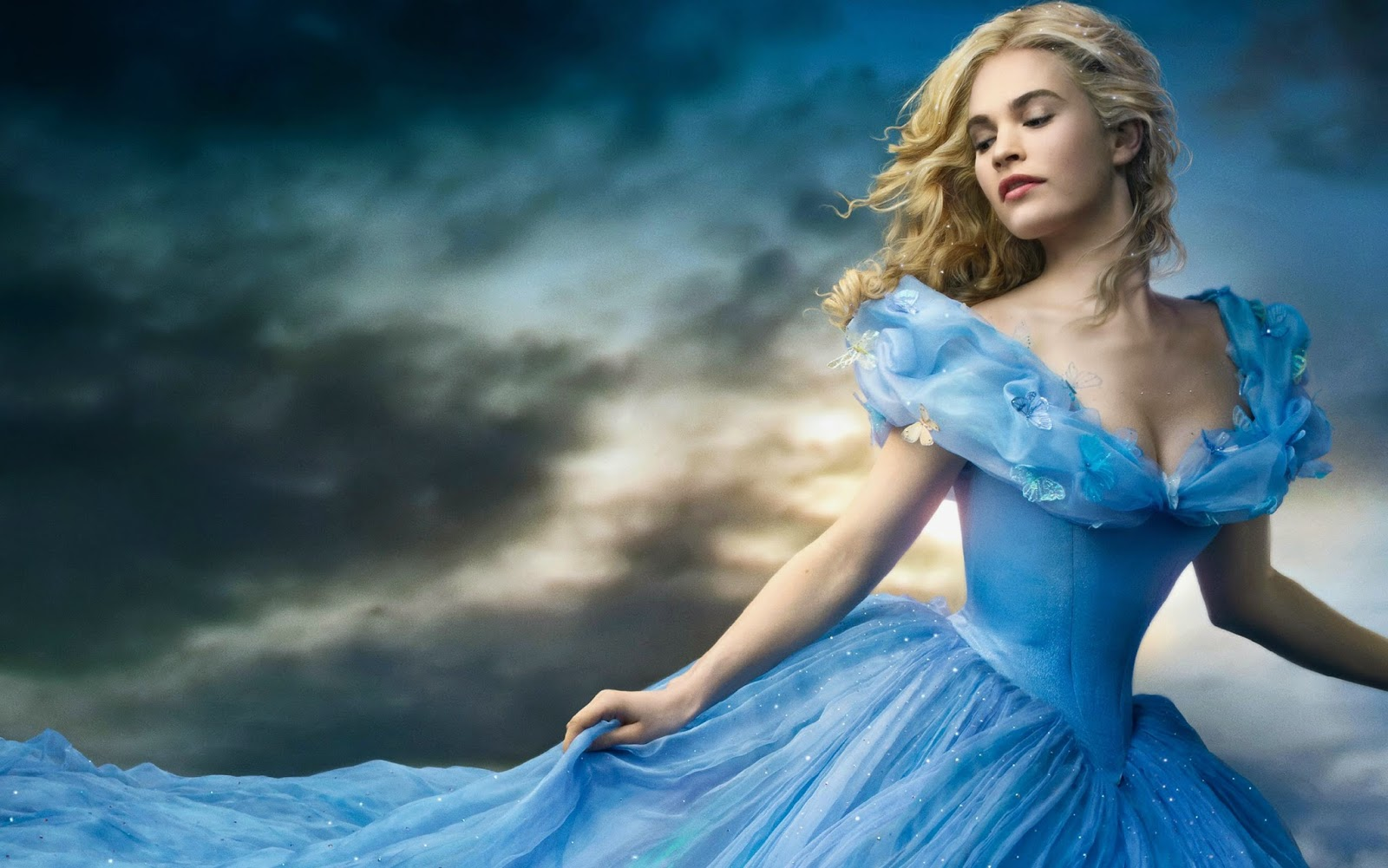Cinderella 2015 Movie Disney Wallpaper HD