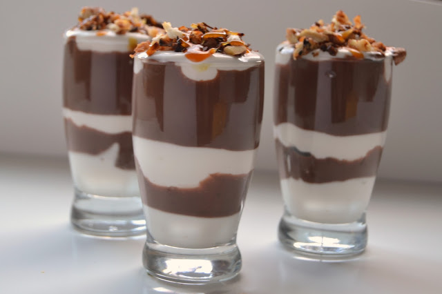 Mini German Chocolate Trifles