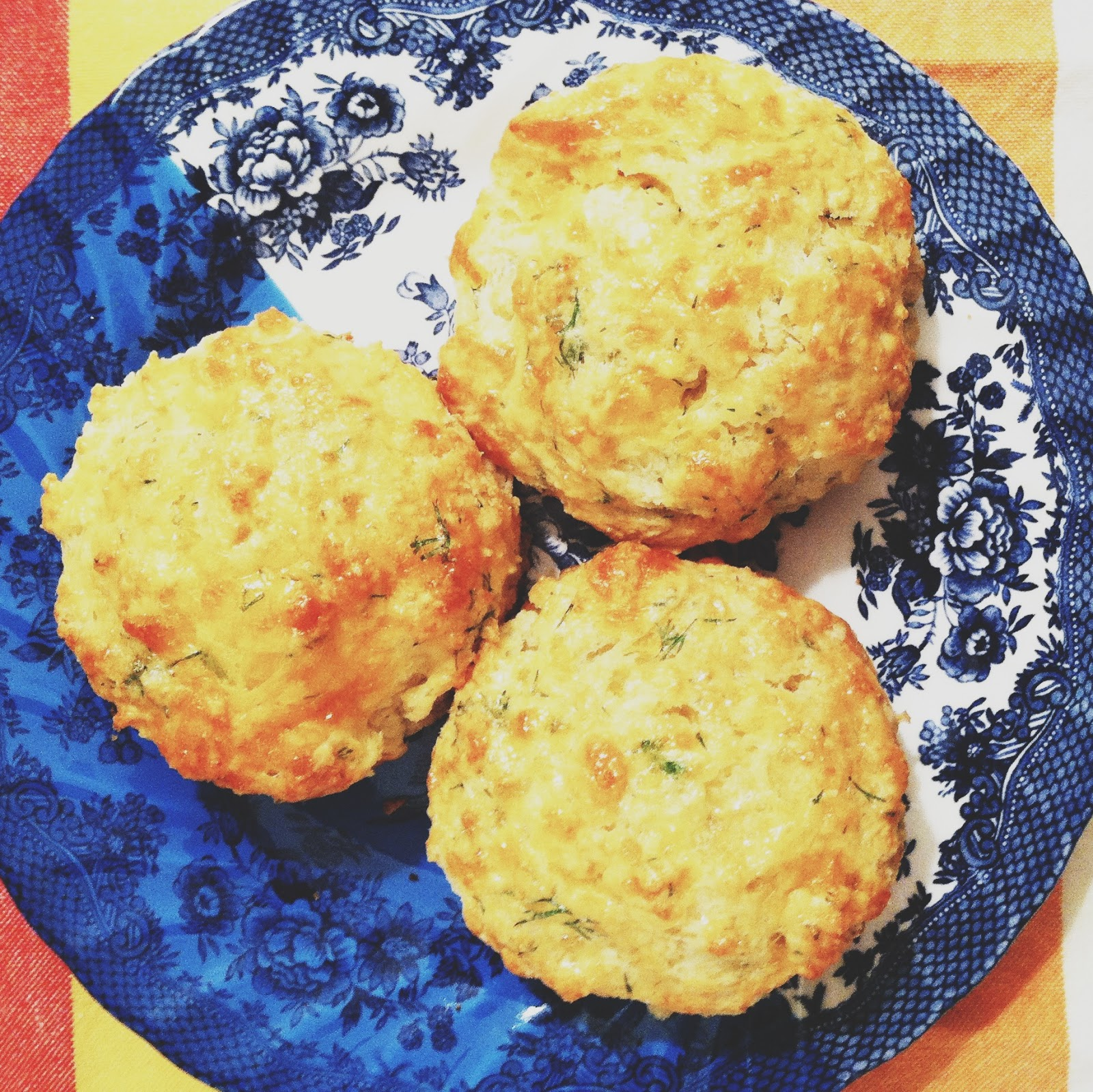 little kitchie: cheddar and dill buttermilk biscuits