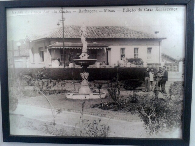 Praça Presidente Antonio Carlos Barbacena MG
