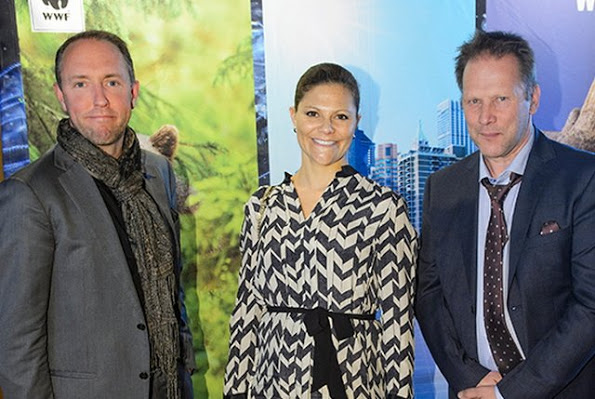 Princess Victoria And King Carl Gustaf Attended WWF Autumn Meeting