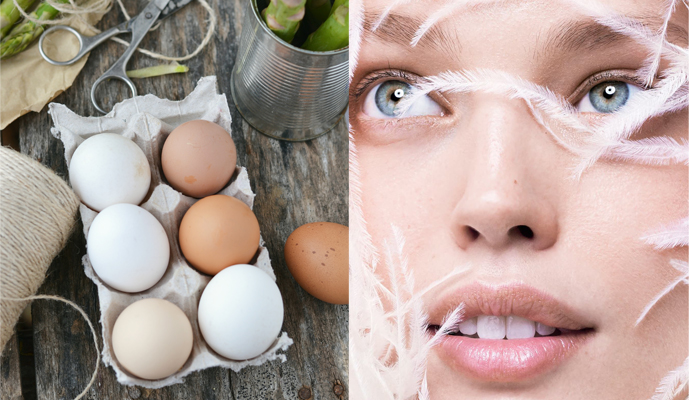 nutrition & diet tips, best foods for beautiful skin / fashion models beauty secrets / home made egg mask / via fashioned by love british fashion blog
