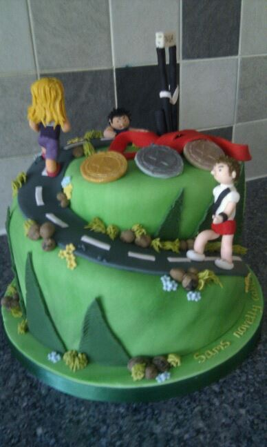 Birthday Cake Pictures For Runners : Sam s Cakes: Runners Cake