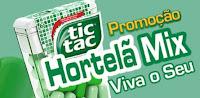 Promoção TicTac Hortelã Viva o seu Mix