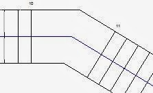 Draw Two Stair Runs With A Gap Between Them And Let Revit Place A Landing  Between Them For You. By Default The Options Bar Setting Will Be Ticked So  That ...