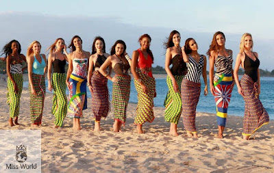 miss world 2013 di Bali