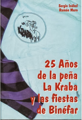Libro de la Peña la Kraba de Binéfar