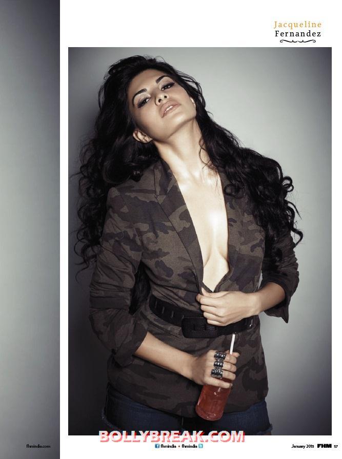 ,  Jacqueline Fernandez's Bikini Pics - Fhm January 2013
