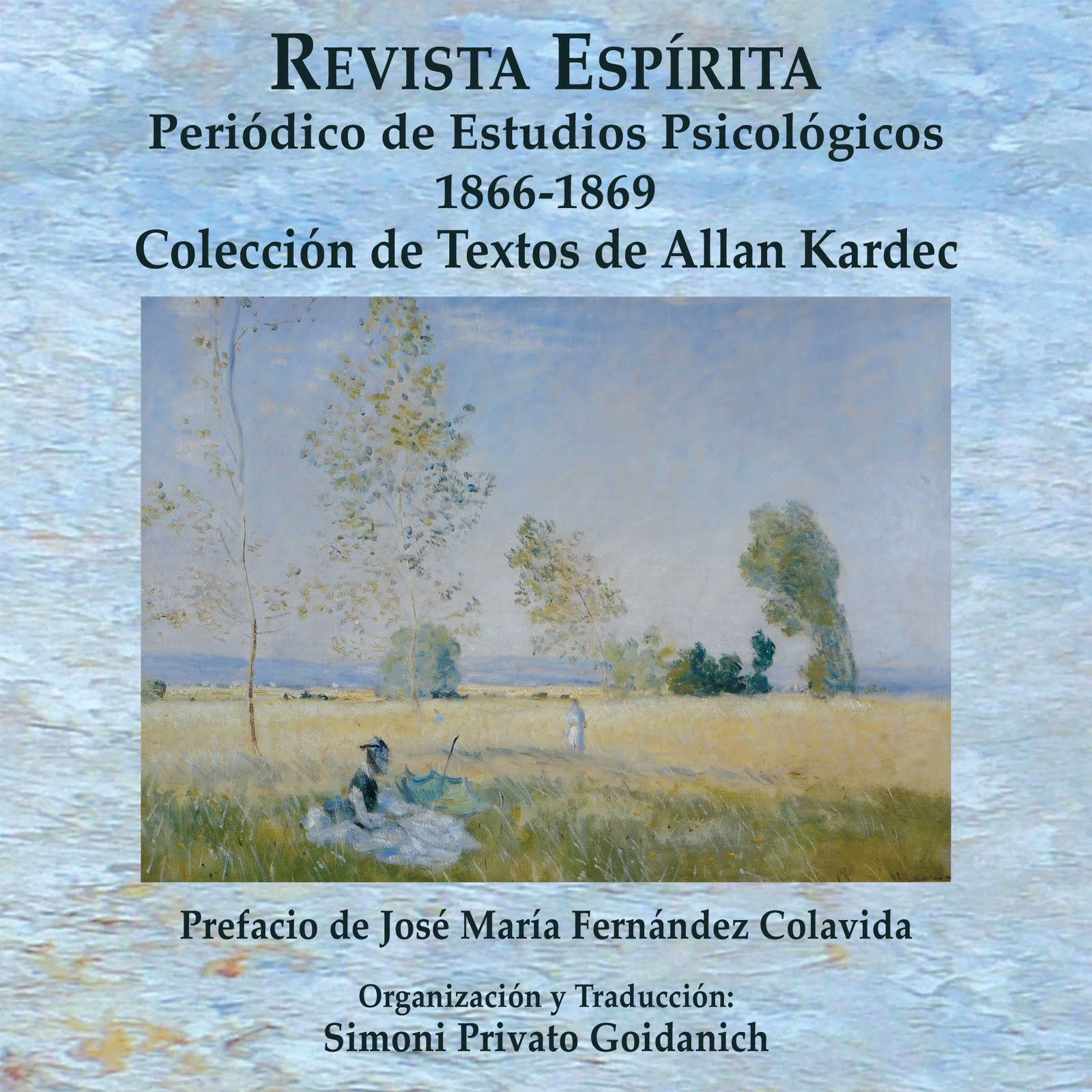 Tercer volumen de la Trilogía sobre la Revue Spirite, de Allan Kardec