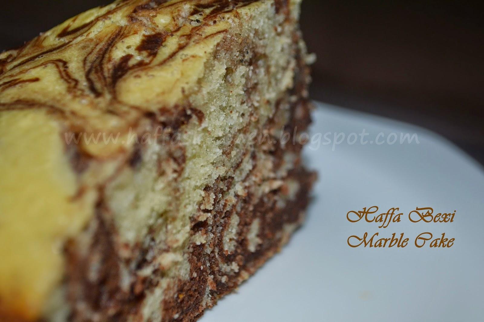 Chocolate Marble Cake Birthday Special Haffa S