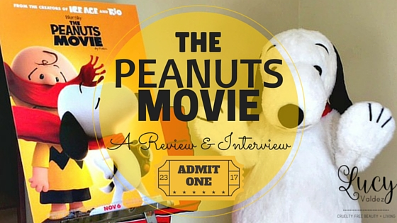 the peanuts movie review and cast interview