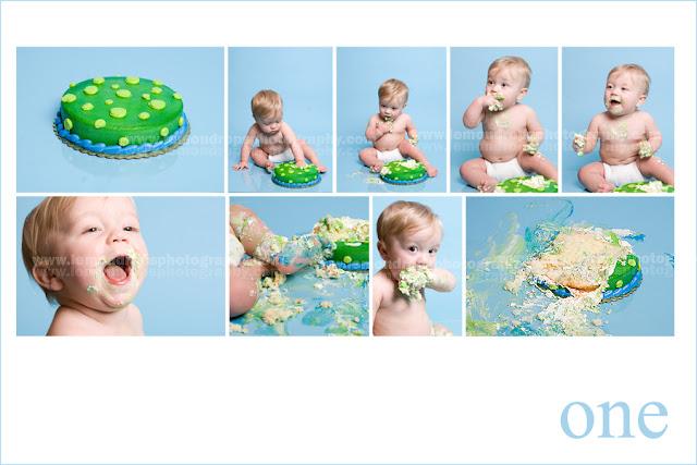 Smash the cake fotos