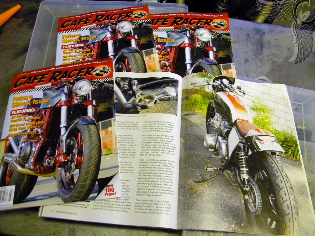 cb650 cafe racer   cafe racer magazine
