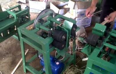 cara kerja mesin tusuk sate